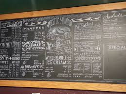 Chalkboard Menu Board Beautiful Chalk Menu Board In Kingston Wa Chalk Menu