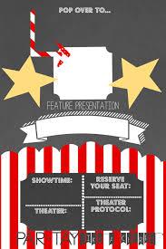 Movie Night Invitation Template Free Free Movie Night Invitation Template Barca Fontanacountryinn Com