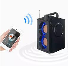 Giá loa nhật bãi, Dàn mini giá rẻ -Loa Bluetooth Cao Cấp RS A20 Haoyes, Âm