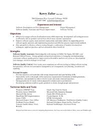 ... Classy Improve Resume Lifehacker with Additional Test Manager Resume  Sample ...