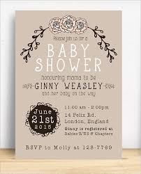 Baby Shower Invitation Backgrounds Free Magnificent 48 Diaper Invitation Templates PSD Vector EPS AI Free