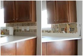 How To Do A Kitchen Backsplash Duo Ventures Kitchen Makeover Subway Tile Backsplash Installation
