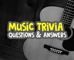 The more questions you answer, the more difficult questions you get. Top 20 Music Trivia Questions And Answers