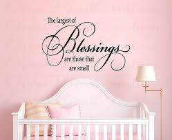 Baby Blessing Quotes Magnificent The Largest Blessing Are Those That Are Small