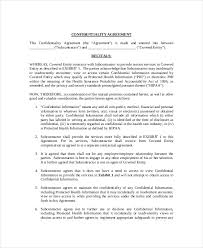 Confidentiality Agreement Free Template Mesmerizing 48 Medical Confidentiality Agreement Templates Free Sample