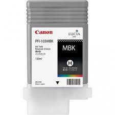 <b>Canon PFI</b>-103MBK Matte <b>Black</b> Ink Tank | BlueDogInk.com