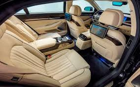 2018 genesis price. delighful price 2018 genesis g90 interior rear angle view inside genesis price e