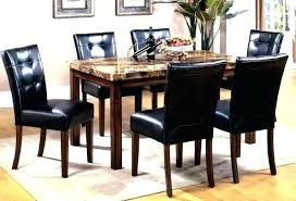 black round dining table and chairs granite dining table tops black granite dining table set granite
