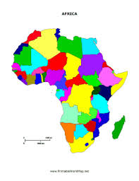 Printable Maps Africa And Travel Information Download Free