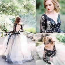 trouwjurken zwart trouwen bruiloft