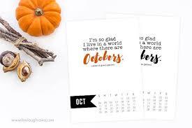 October 2015 Calendar Printable Live Laugh Rowe