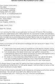 Interesting Cover Letter Sample Merchandiser Cover Letter Resume Of