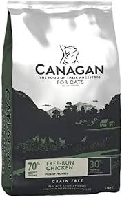 <b>Canagan</b> Complete - <b>Grain Free</b>, <b>Free Run</b> Chicken Cat food (4kg ...