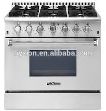 thor kitchen 36 inch luxury 6 burner stainless steel gas range hrg3618u87