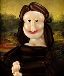 Mona Lisa Larry Moss from $55.00 - 687-raw-mona-little-collector_4