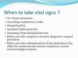 Vital Signs Pediatrics