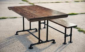 pipe table legs kit farmhouse dining table pipe table legs for industrial style kitchen table