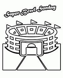 Small Picture Superbowl coloring pages super bowl stadium arena coloring pages