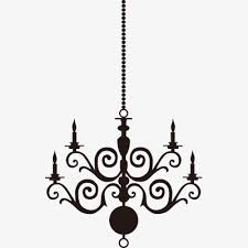 chandelier european chandeliers silhouette european chandeliers png image and clipart