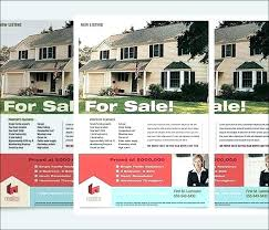 Home Flyers Template Brochure Template Design Custom Real Estate Flyers With Our
