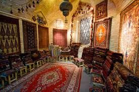 a persian carpet in isfahan