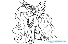 coloring pages princess luna my little pony coloring page pages
