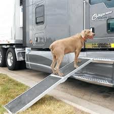 0 ramp lucky dog aluminum folding 2 for truck bed diy