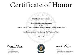 Certificate Of Honor Template Free Certificate Of Honor Template Download