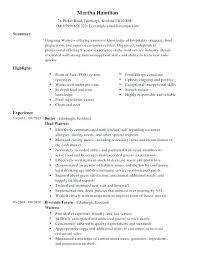 waitressing cv waiter resume template joyeverafteronline com