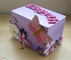 Decorated Money Box Personalized wood Picture Frame new baby girl Baby Shower Gift 4
