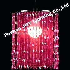 party chandelier lighting pink beaded hanging chandelier for wedding chandeliers centerpieces decorations and event party decor