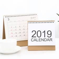 standup desk calendars desk calendar calendar planner 2018 2019 desk top flip calendar stand up office table planner