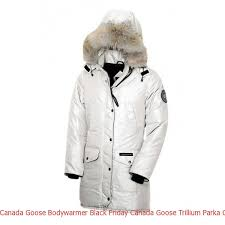 Canada Goose Bodywarmer Black Friday Canada Goose Trillium Parka Cg55 Pearl  For Women