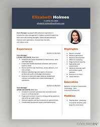 If this important document is stylish, ordered, and unique, you can maximize your chances of securing an interview. Cv Resume Templates Examples Doc Word Download