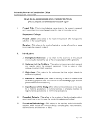 Project Proposal Apa Format Apa Proposal Example Creating A Table Of Contents Examples From