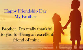 Brother Quotes Fascinating Best Happy Friendship Day Quotes For Brother Relationship 48 From
