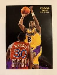 When you combine his death with the general sports card boom, you have one of the hobbies' best investment returns. Kobe Bryant Rookie 1996 97 Fleer 203 Los Angeles Lakers