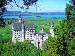 o chegar ao castelo de neuschwanstein