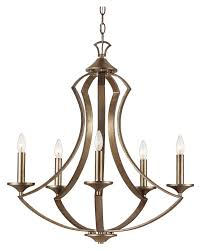trans globe 70306 antique silver finish 25 inch diameter 5 candle chandelier loading zoom