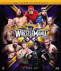 Amazon WWE WrestleMania XXX Blu ray John Cena Randy.