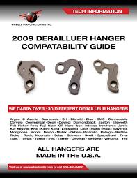 Wheels Manufacturing Inc Replacement Derailleur Hanger