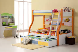 Simple Toddler Boy Bedroom Home Design Simple Kids Room Design With Red Finish Wooden Bunk