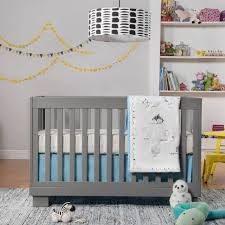 babyletto modo in convertible crib in grey free shipping