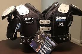 Gear Pro Tec Girdle Size Chart New Gear Pro Tec Z Cool Medium Qb Wr Db Football Shoulder