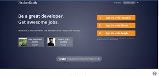hackerearth programming challenges and developer jobs multimedia developer jobs