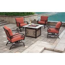 better homes and gardens sycamore place 5 piece fire pit set with motion box 1 of 2 com