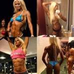 Bikini fitness kostschema