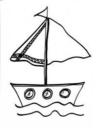 Boot Kleurplaten