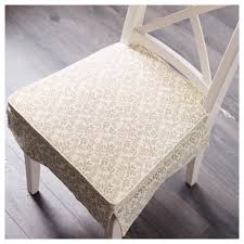 Kitchen Chair Cushions Ikea Elsebet Chair Pad Beige Ikea