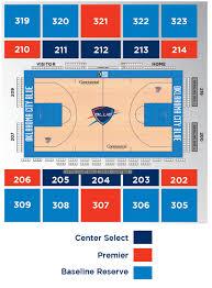 Thunder Game Seating Chart Thunder Run Oklahoma City Thunder